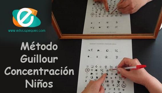 El Método Guillour para aumentar la concentración en los niños